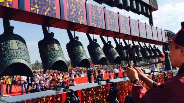 Reproduction du carillon de cloches de concert de Chine