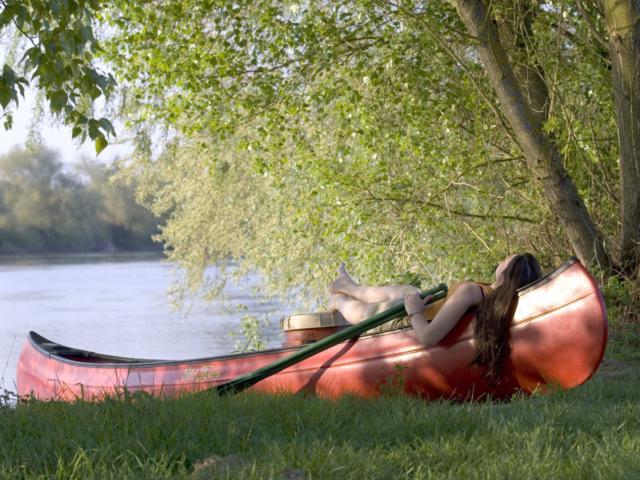 Canoe-Petite pause sur les berges