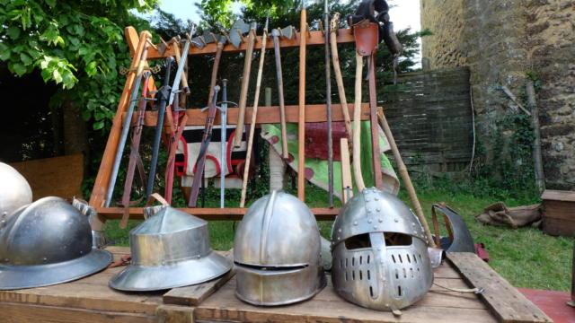 Fête médiévale à la Commanderie templière d'Arville