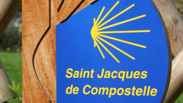 Panneau Saint-Jacques-de-Compostelle