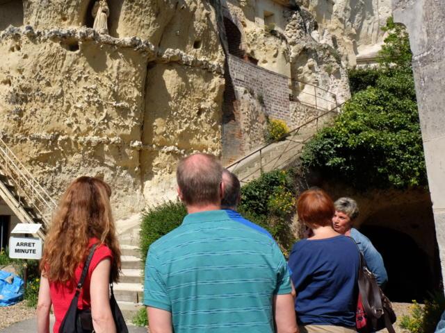 Escalier Saint-Gabriel à Trôo