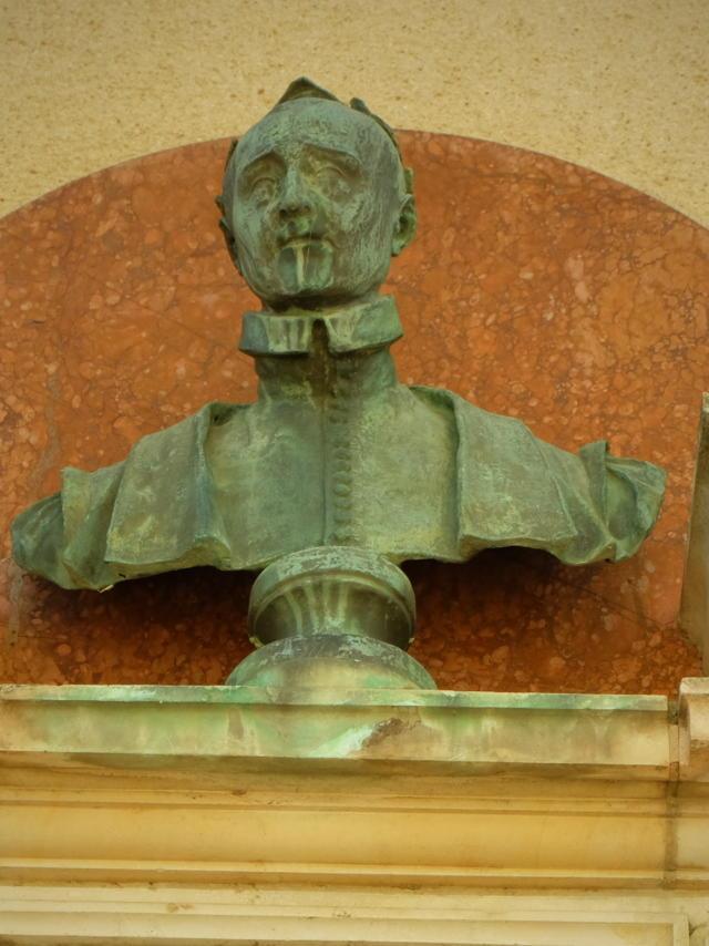 Buste de Pierre de Ronsard à Vendôme