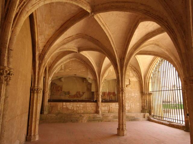 Salle Capitulaire de l'abbaye de la Trinité à Vendôme