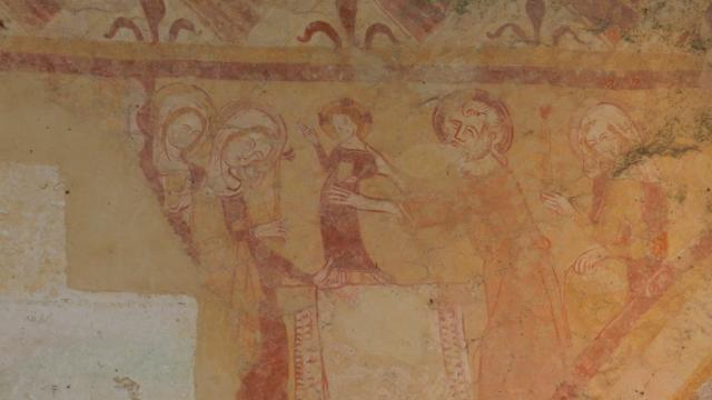 église à fresques de Sargé Sur Braye