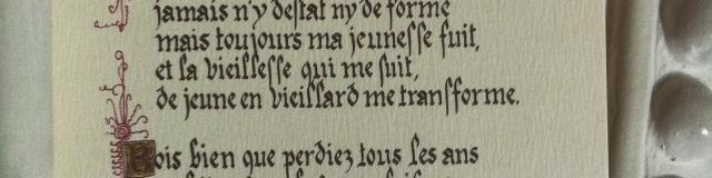 Poème de Ronsard