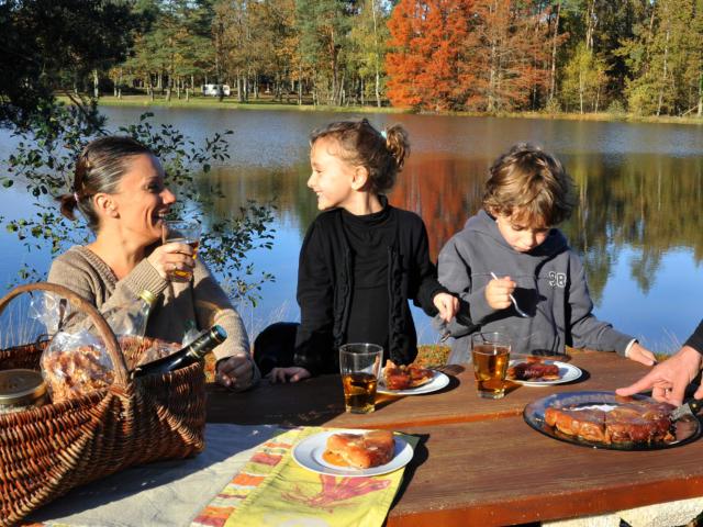 Goûter en famille