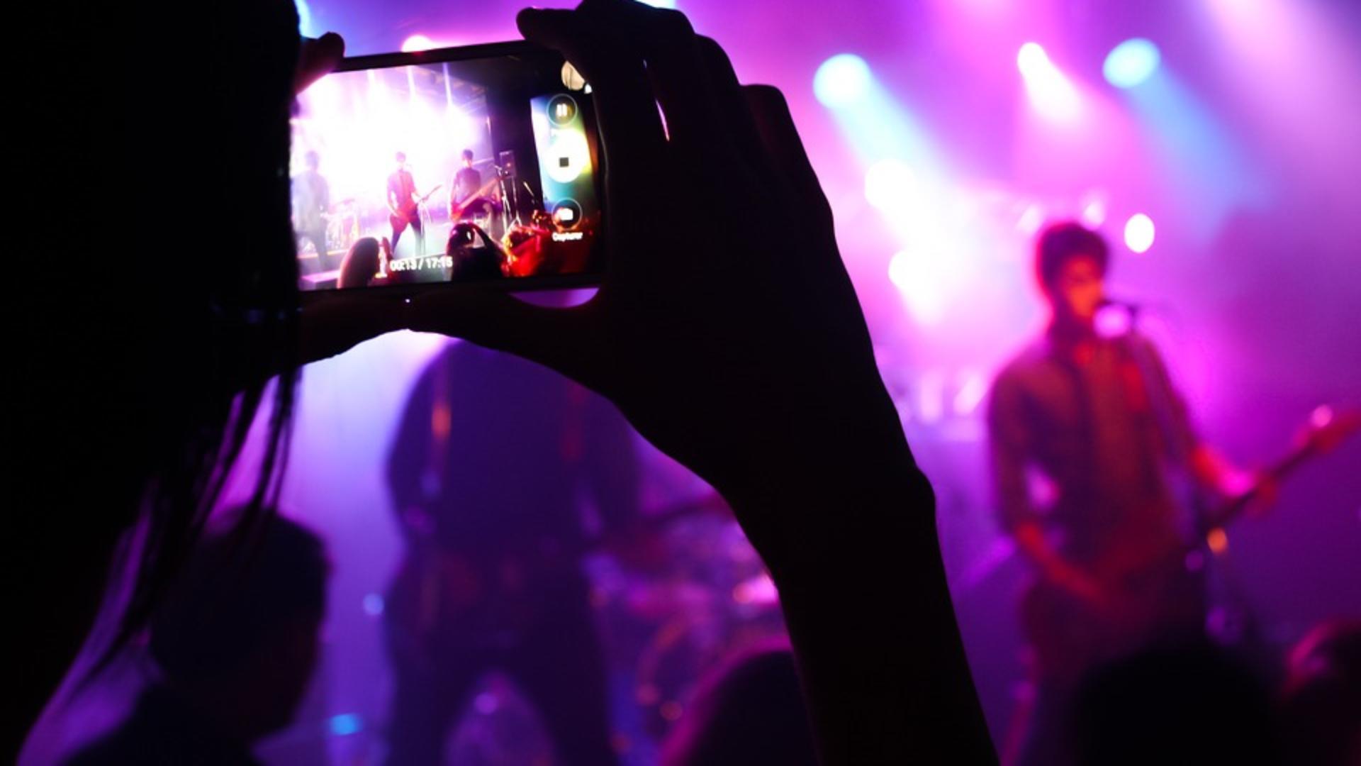 Salle de concert - Festival les Rockomotives à Vendôme