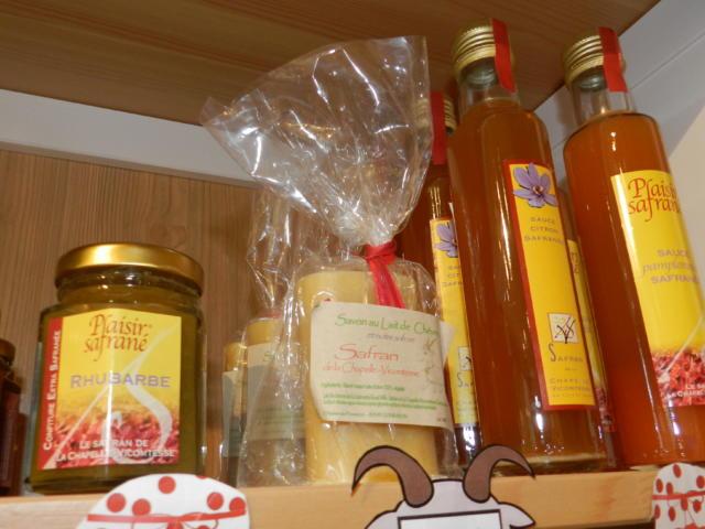 Produits safranés de la Chapelle-Vicomtesse - Boutique Office de Tourisme à Vendôme