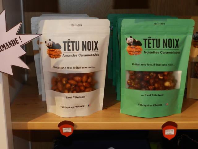 Amandes et noisettes caramélisées - Boutique Office de Tourisme à Vendôme