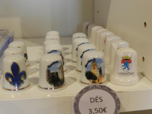 Dé à coudre - Boutique Office de Tourisme à Vendôme