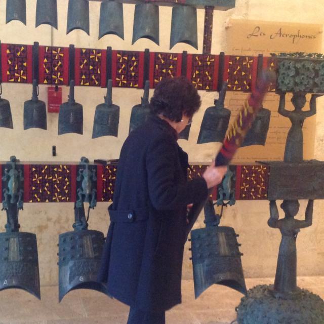 Démonstration avec le carillon de cloches à Musikenfête à Montoire-sur-le Loir