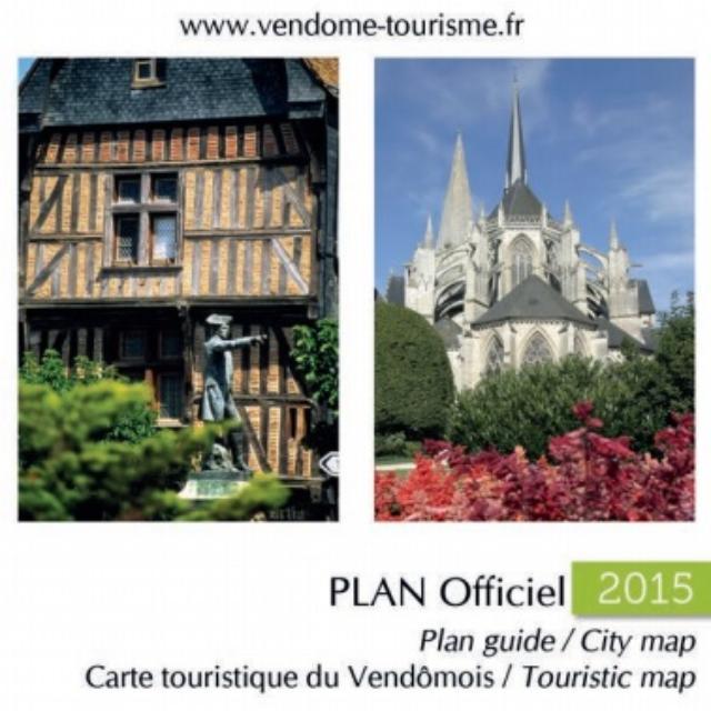 Plan de ville de Vendôme