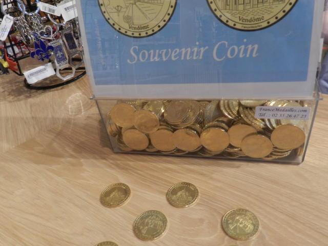 Pièces souvenir - Boutique Office de Tourisme à Vendôme