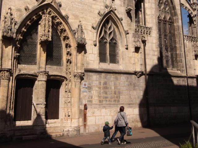 Façade de la Chapelle Saint-Jacques