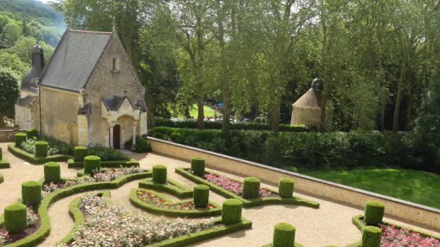 Jardin à La Française au château de Courtanvaux