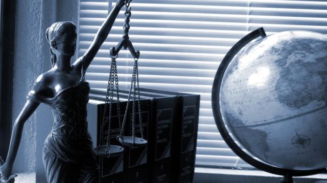 Visuel de la justice