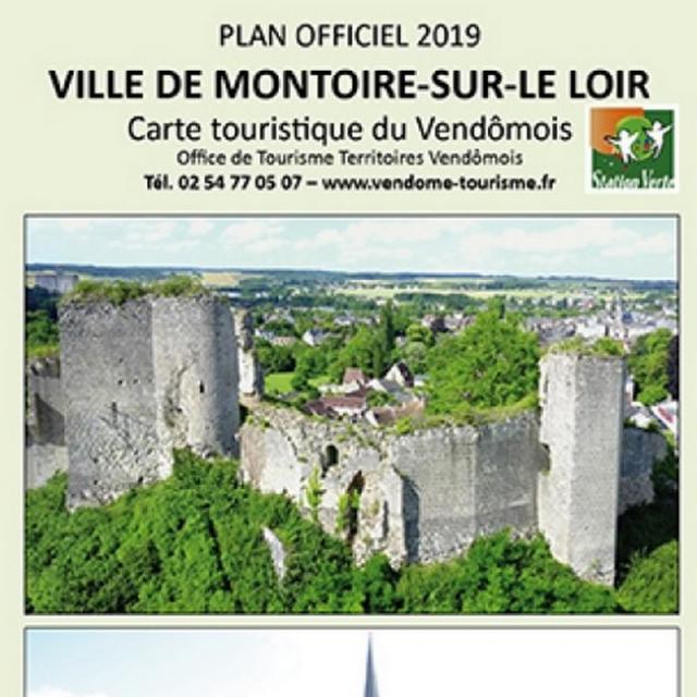 Plan de ville de Montoire-sur-le Loir